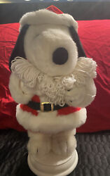 Vintage Santaand039s Best Holiday Animation Peanuts Snoopy Flying Ace Motionette