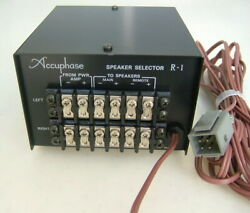 Accuphase Kensonic R-1 Speaker Selector For C-200 C-200s Unused Nos Japan