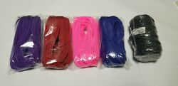 750 Paracord 200ft Reflective Black Andbull 100ft Of Purple Pink Red And Blue