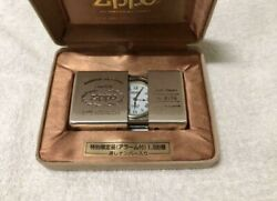 Zippo Time Tank Alarm Clock Special Limited Edition Collection No Battery Junk