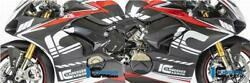 Ilmberger Racing Gloss Carbon Fairing Side Panels Pair Ducati Panigale V4 S 2020
