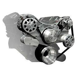 All American Billet Front Drive System W Air Conditioning / W Power Steering