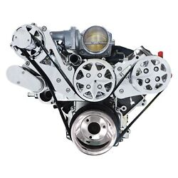 For Chevy Silverado 1500 05-14 Machined Belt Drive System Front Serpentine