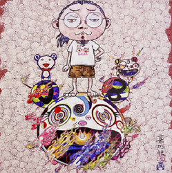 Takashi Murakami Obliterate The Self And Even A Fire Is Cool S/n Ltd.300