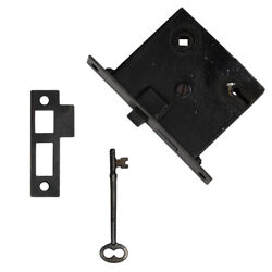 Refinished Antique Mortise Lock Sets, 9 Available, Nml81