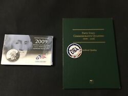 1999-2008 Fifty State Commemorative Quarters In Folder And 2009 6 Quarters Mint