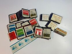 Vintage Re-usable Hypodermic Needles And Alcohol Prep Pads With Original Ads