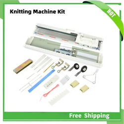 3-needle Sk155 Knitting Machine Kit Punch Card Knitter Sewing Accessory
