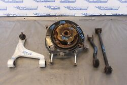 2014 Nissan Gt-r R35 Premium Vr38 3.8l Oem Lh Driver Rear Spindle And Arms 1300
