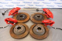 2016 Dodge Charger 4dr Hellcat Srt Oem Brembo Brake Calipers And Rotors 1295
