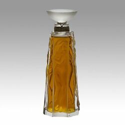 Limited Edition 1994 Les Muses Perfume Bottle By Marie Claude Lalique