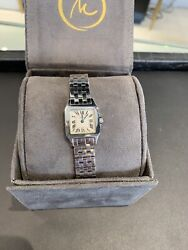 Santos Demoiselle 20mm Stainless Womenand039s Watch - Model 2698