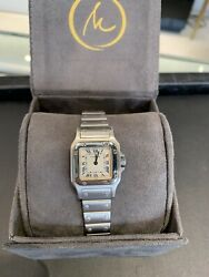 Santos Galbee 24mm Stainless Womenand039s Watch - Model 1565