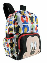 Disney Mickey Mouse KIDS LARGE 16quot; ALL OVER PRINT BACKPACK School Bag $22.90