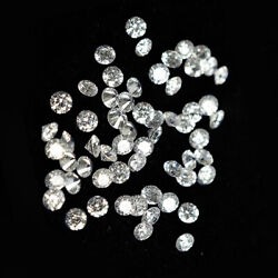 12 Round White Natural Loose Diamond 1.2mm Each I2-i3 Clarity