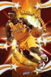 Lebron James Star Power 24 X 36 Poster Cleveland Cavaliers New Rolled