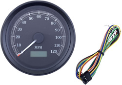 3 3/8 Programmable Electronic Speedometers 120 Mph