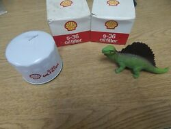 New Shell S-36 Oil Filters Lot Of 2 Free Shipping