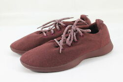 Allbirds Womenand039s Wool Runners Tuke Jam Maroon Comfort Shoes Nw/ob