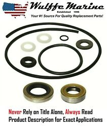 Lower Unit Gearcase Seal Kit For Johnson Evinrude 25 28 30 33 35 40 Hp 18-2686