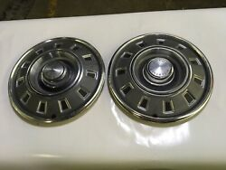 68 69 Dodge Charger Original 14 Inch 14andrdquo Hubcaps