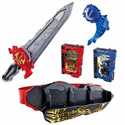 Bandai Kamen Rider Saber Dx Seiken Swordriver And Suiseiken Nagare Emblem And Lion S