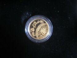 2014 Canadian 5 Five Blessings - 1/10 Oz Pure Gold Coin Mintage Of Only 2,000