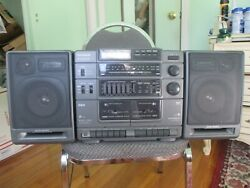 '93 Vintage Rca Boombox Rp-7950a Cd Compact Disc Cassette Am/fm Works Very Well