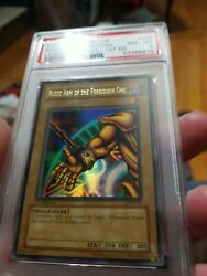 Yugioh Right Arm Of The Forbidden One Lob-122 1st Ed. Psa 8 Nm-mint Ultra Rare