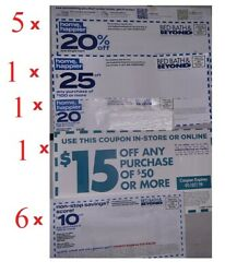 9 Bed Bath And Beyond 20  10 20 15 Off In Store - Online Coupons