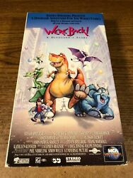 Weand039re Back Vhs Used Movie Vcr Video Tape Cartoon Slip Case