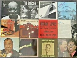 Jazz Collection 12 Albums George Lewis Armstrong Basie Hines Ellington
