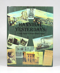 Antique 1992 Hannibal Yesterdays Mo History Mark Twain Steamboat Mississippi