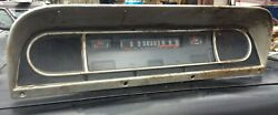 1968 - 1972 Ford F100 F-100 Instrument Cluster Speedometer Oem Used Free Shippng