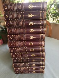 Leather Set Encyclopedia Librarystoddard • Complete Travel Britannica Lecture