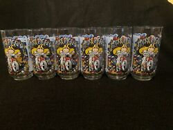 Vintage Mcdonalds Miss Piggy The Great Muppet Caper Glassesset Of 6never Used