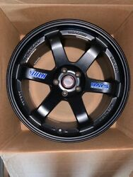 Volks Rays Te37 Og, 5x114.3, Jdm , Forged, Authentic , 18x10.5+22 , Black