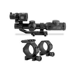Sector Optics G1t3 1-8x24 Riflescope System With Thermal Imager With Mount Rings