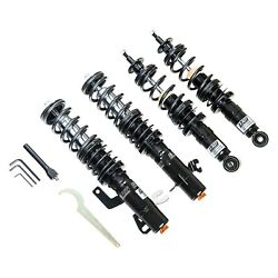 For Bmw M2 16-20 Coilover Kit 0.4-2.4 X 0.4-2.4 5100 Series Nco Front And Rear