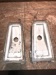 1964 Buick Electra 225 Tail Light Housing With Mounting Brackets And Hardware
