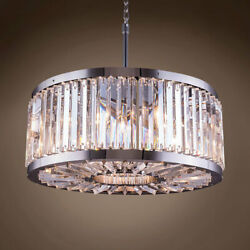 Gatsby Luminaires 701859-002 8 Light 28 Clear Crystal Polished Nickel