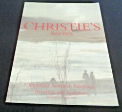 Christie's 2000 Auction Catalog 9368 Important American Paintings O'keeffe Ault