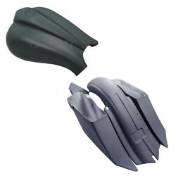 Unpainted Saddlebags Rear Fender Battery Covers Fit For Harley Touring 2014-2021