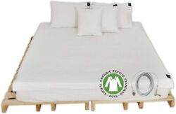 Conductive Brand Grounding Flat Bed Sheet With Ground Connection Cord (52 X 27 I