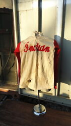 Indian Motorcycle Sweater Clement Murdaugh 1948 National Hill Climb Champion
