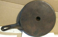 """Vintage Wagner Unmarked Wedge Triangle Corn Bread Pan Cast Iron Skillet - 9"""""""