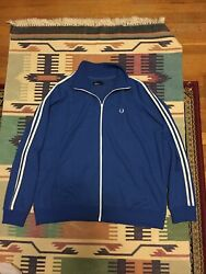 Fred Perry Track Field Jacket Men's sz XXL Made in Portugal $35.00