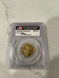 1996-w 5 Gold Olympic Flag Bearer Pcgs Ms70 - Mercanti Rare Only One On Ebay