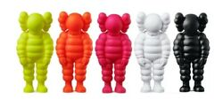 Kaws What Party Figure Set-5 Total-yellow Orange Pink White Black Confirmed