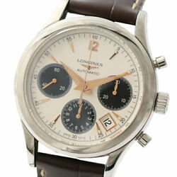 Longines Heritage Column Wheel Chronograph L2.742.4 Menand039s Used Watch